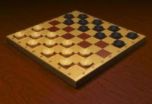 Play checkers online puzzle game