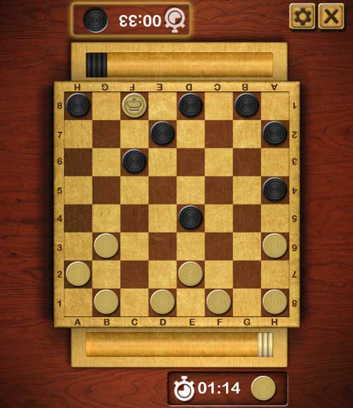 Play Checkers online game