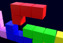 Falling Cubes Puzzle Game