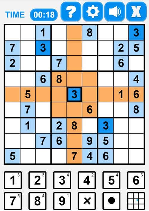 Play sudoku online game