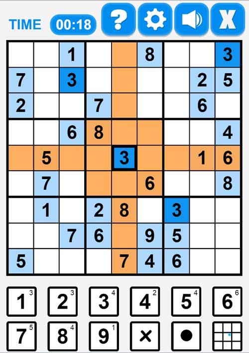 Juega el juego de Sudoku en línea