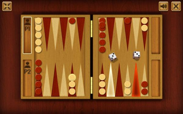 Juega el juego de backgammon en línea