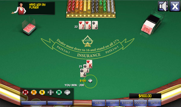 free video blackjack games for kids