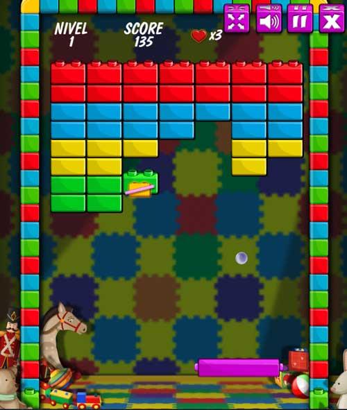 Juega el juego Brick Breakout en línea