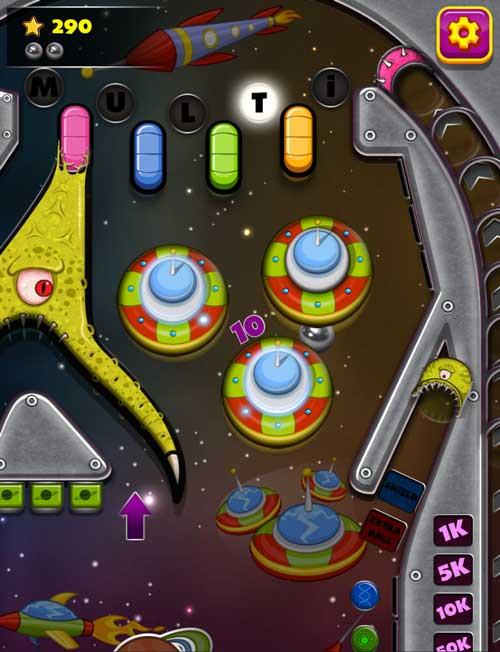 Free online pinball browser game