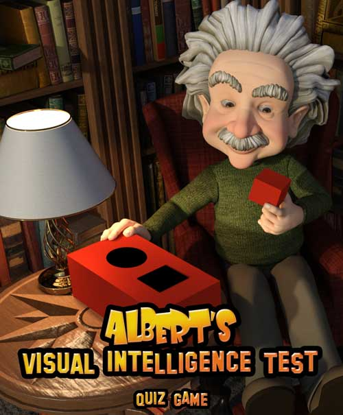 Alberts visual intelligence test quiz IQ game