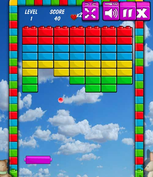 Play Brick Breakout game