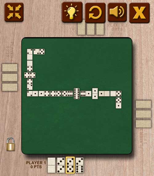 Play Domino Dominoes game online