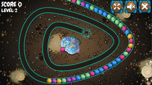 Play The Sorcerer Caveballs game