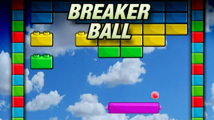 Ball Brick Breakout game
