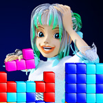 Block cube game app for Android